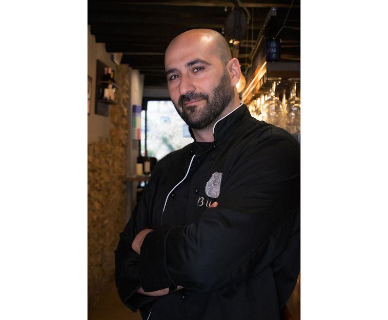 Jaume Grau, chef del restaurante 13 Llunes en Sitges