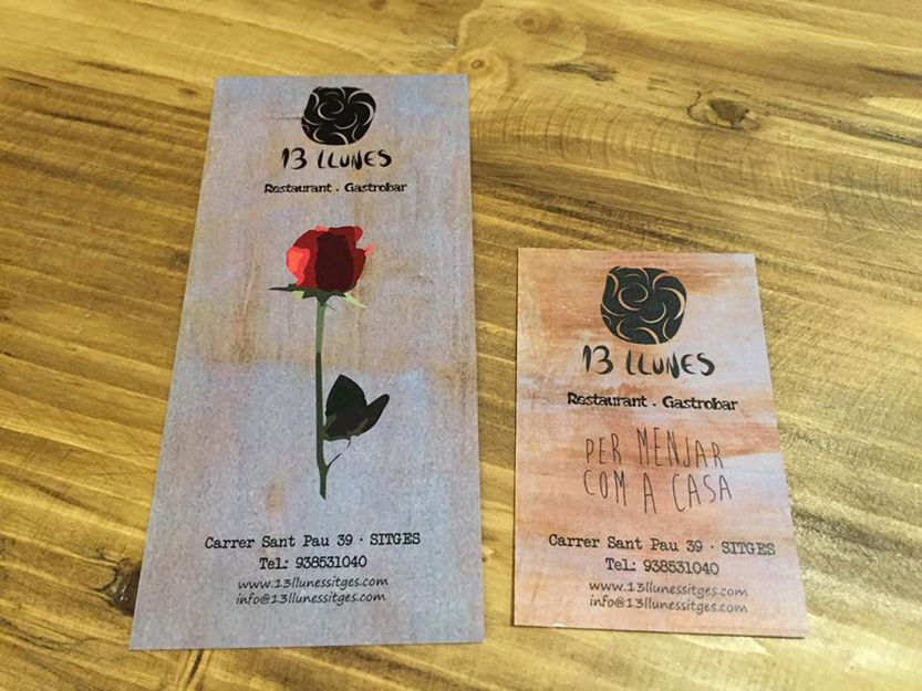 13 Llunes, restaurante en Sitges