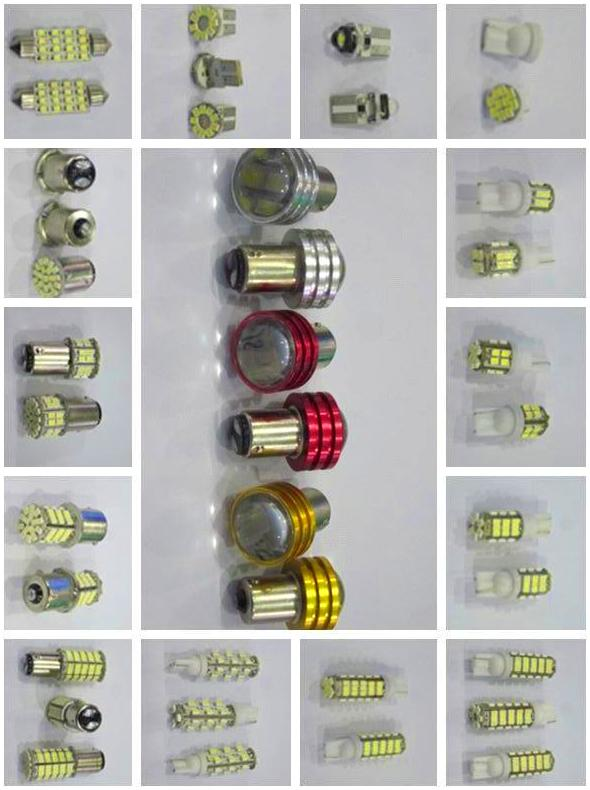 led,bombilla, faros, conexiones