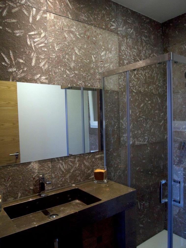 Muebles de baño en mármol