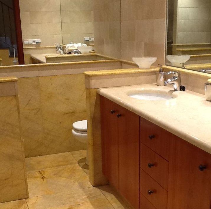 Encimeras de mármol para baños