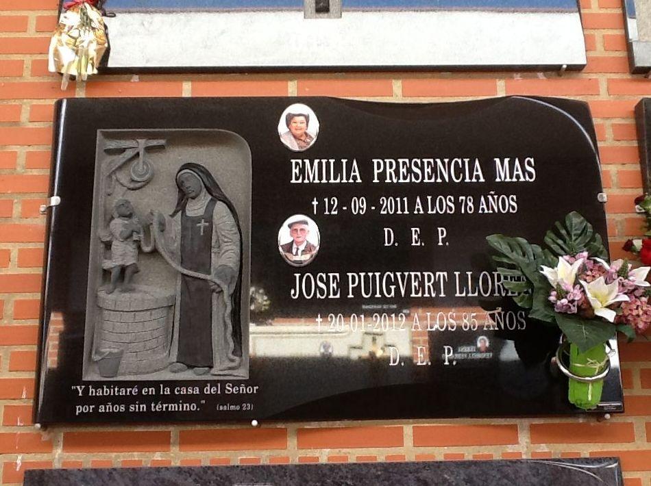Lápidas de mármol en Valencia