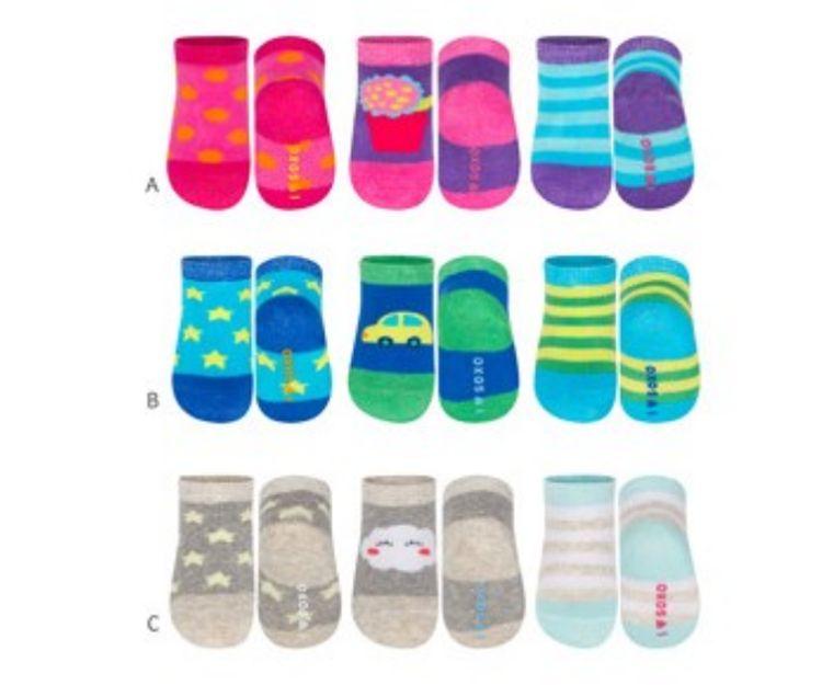 Calcetines con motivos para bebés