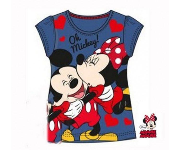 Camiseta de Mickey y Minnie Mouse