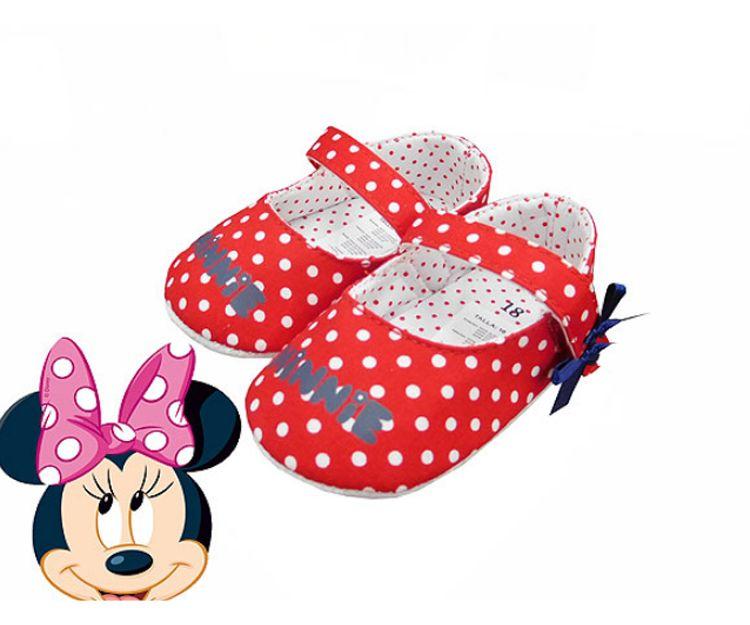 Zapatilla divertida de Minnie Mouse