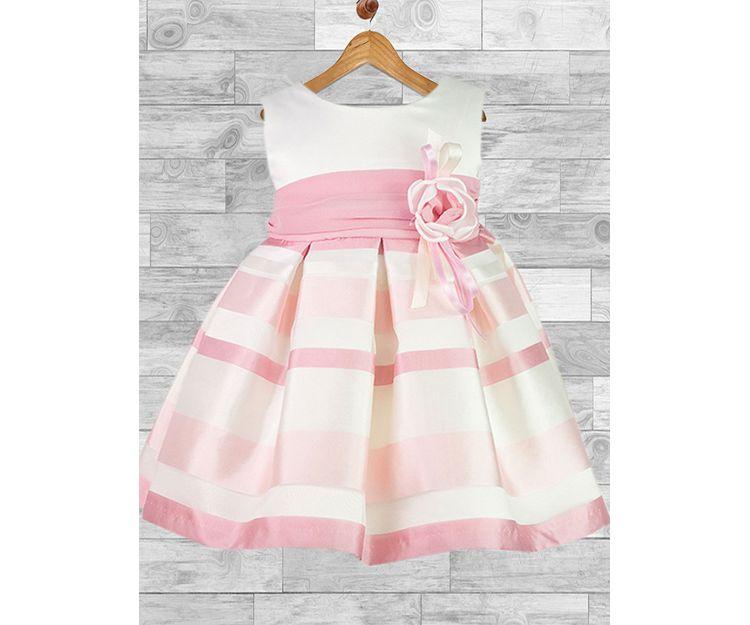 Vestido rosa para ceremonia
