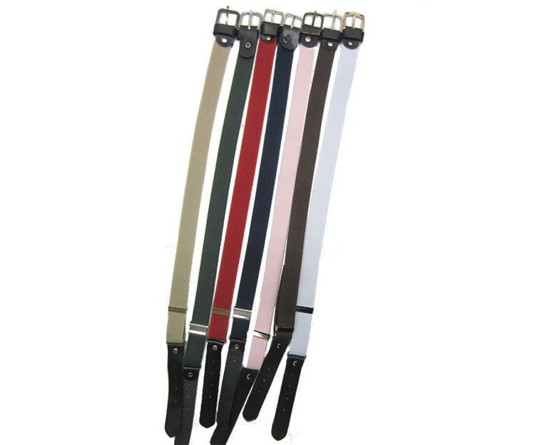 Cinturones de varios colores