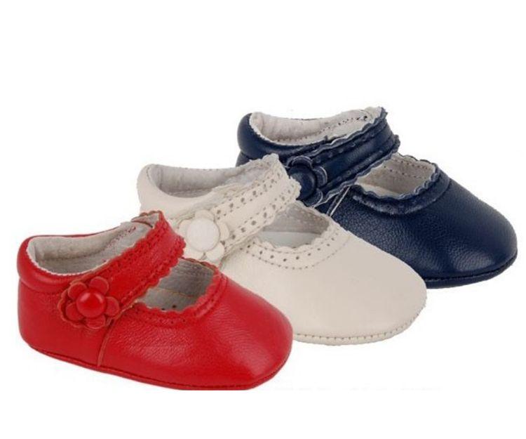 Zapatos para bebés de varios colores