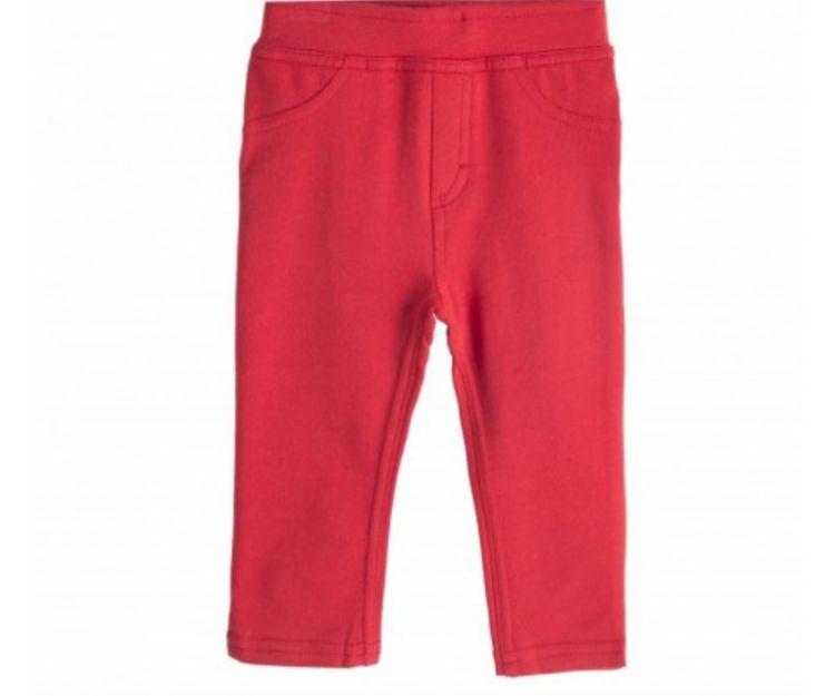 Pantalón rojo básico
