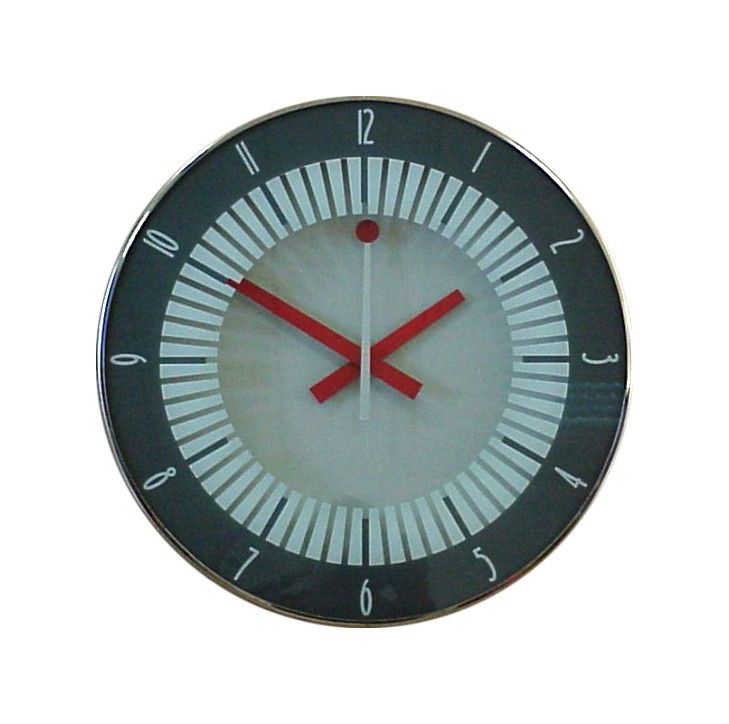 Reloj para estación de cercanías