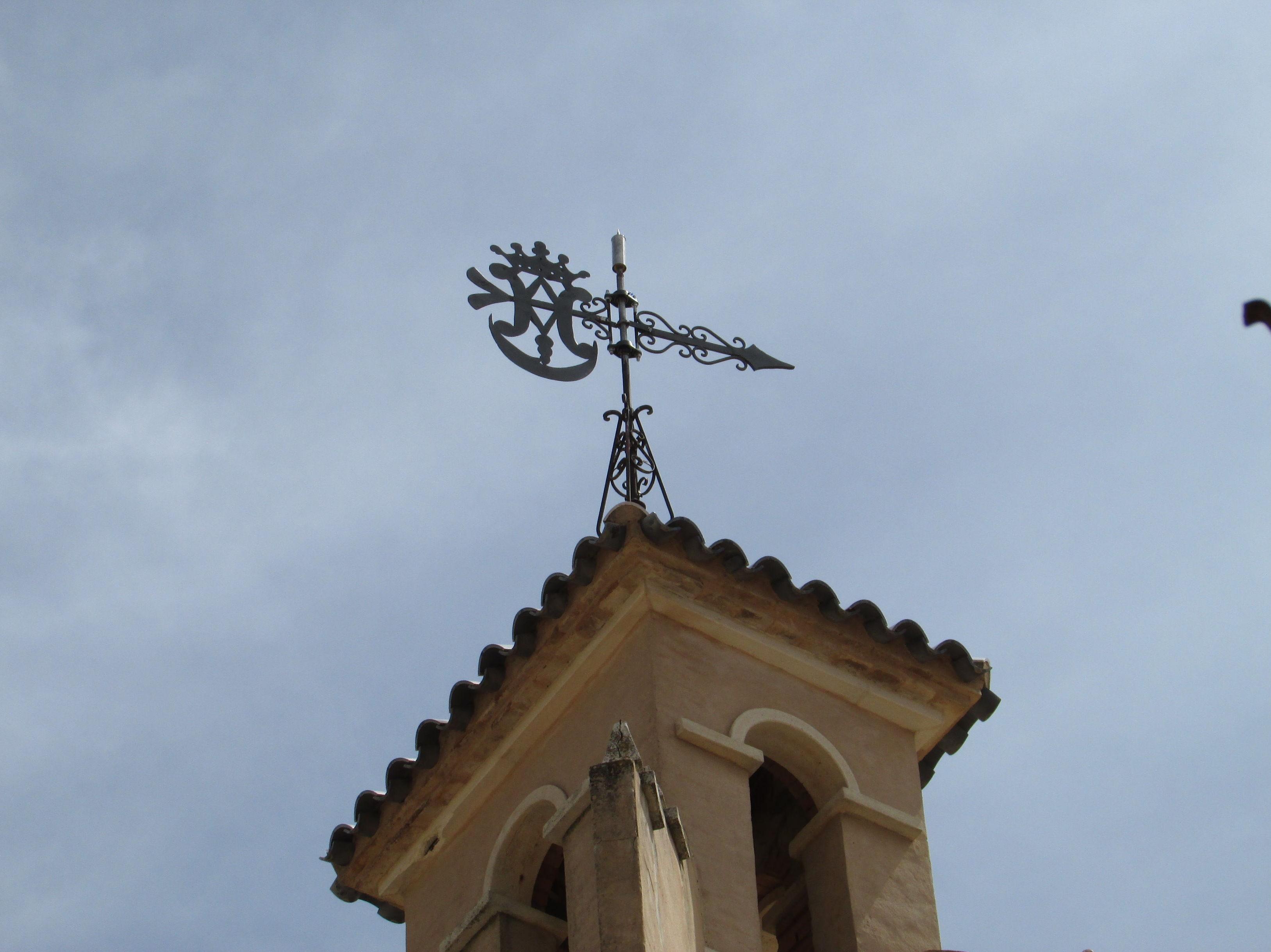instalación de pararrayos en iglesia
