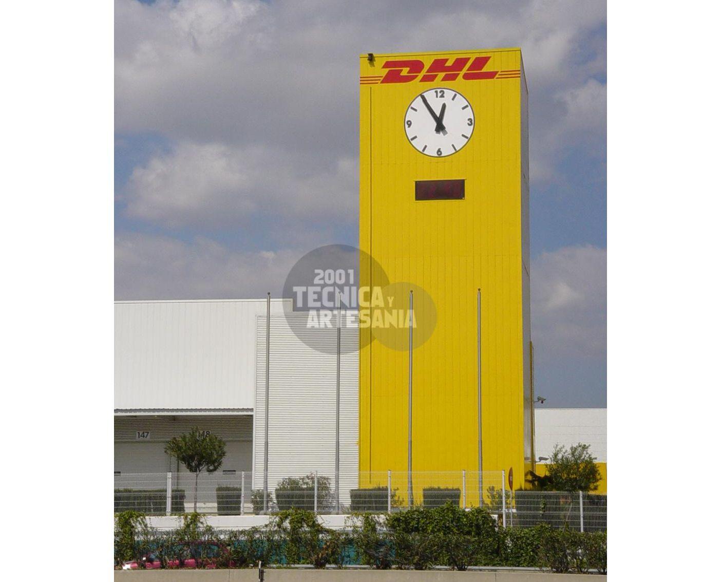 Venta y montaje de relojes de torre