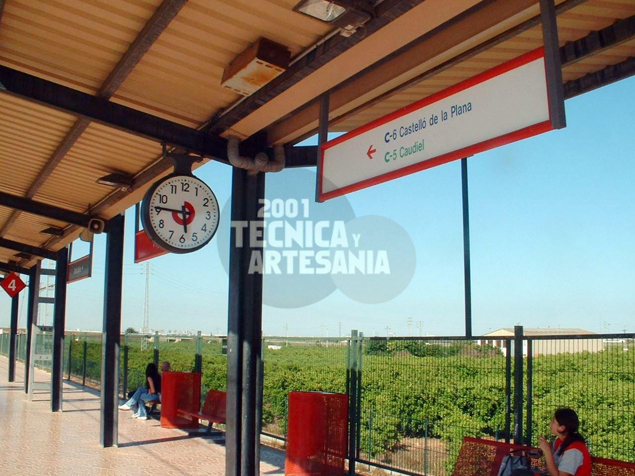 Relojes de estación en Valencia