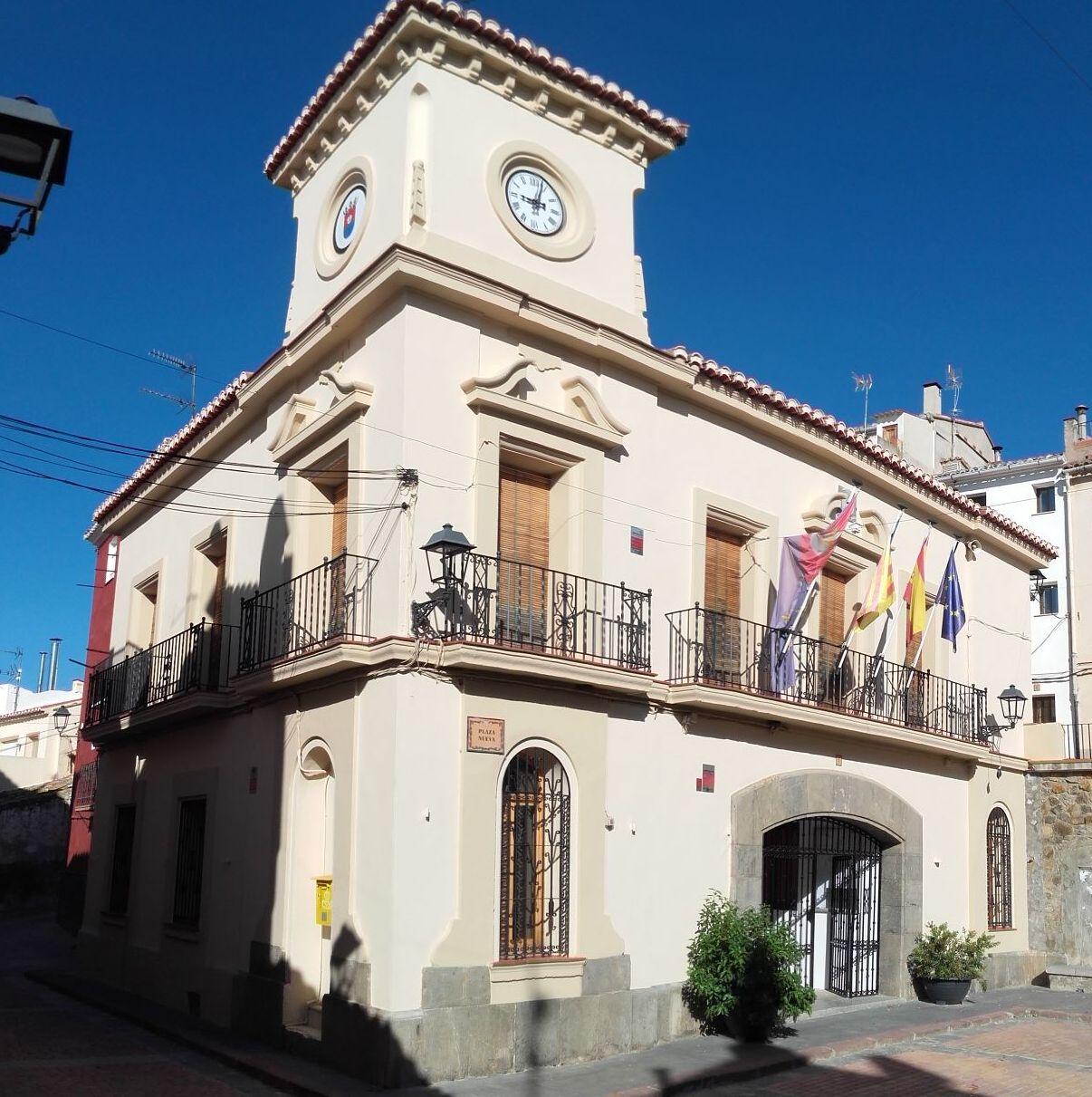 Reloj ayuntamiento de Benafer