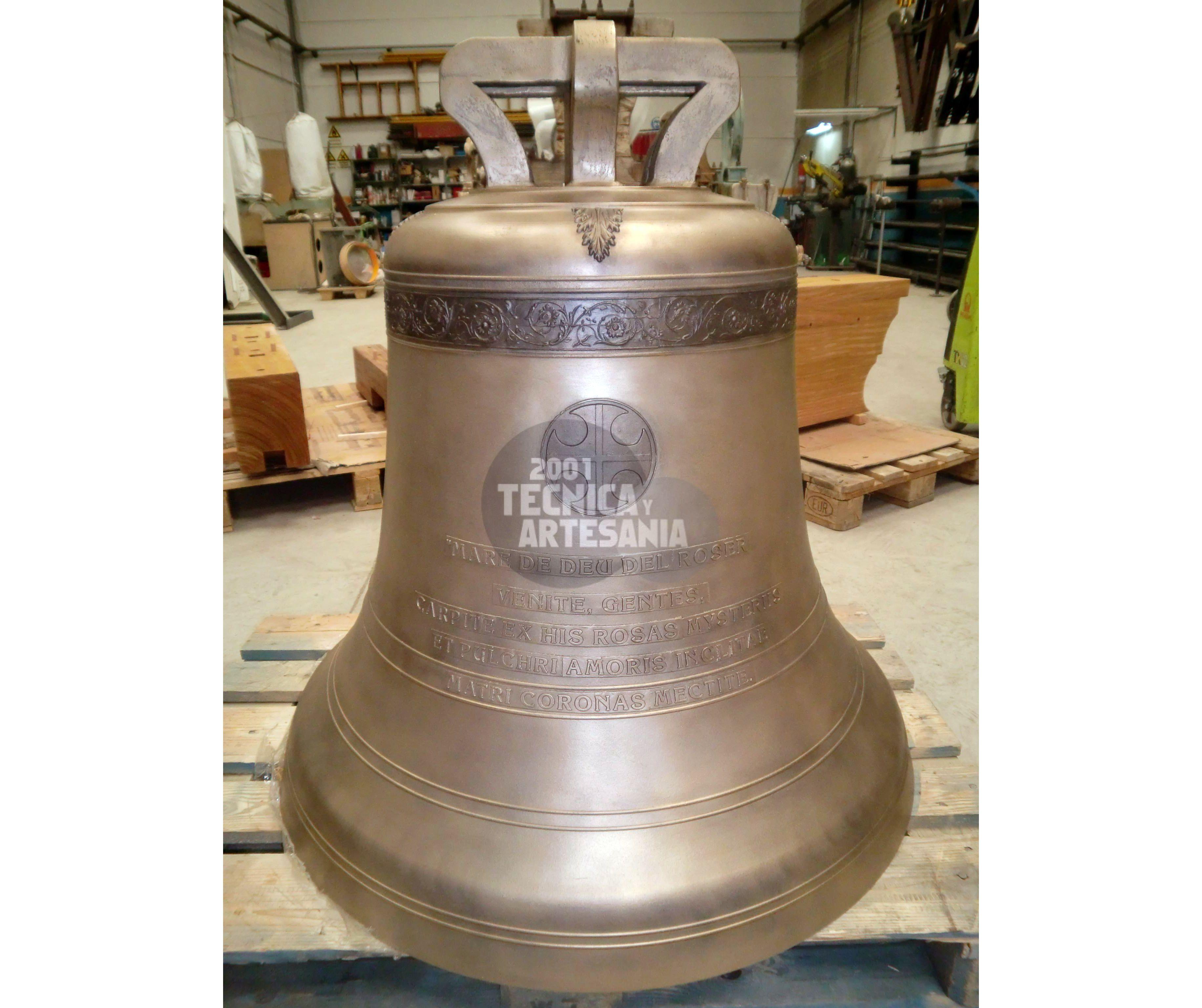 Fundición de campanas en Valencia