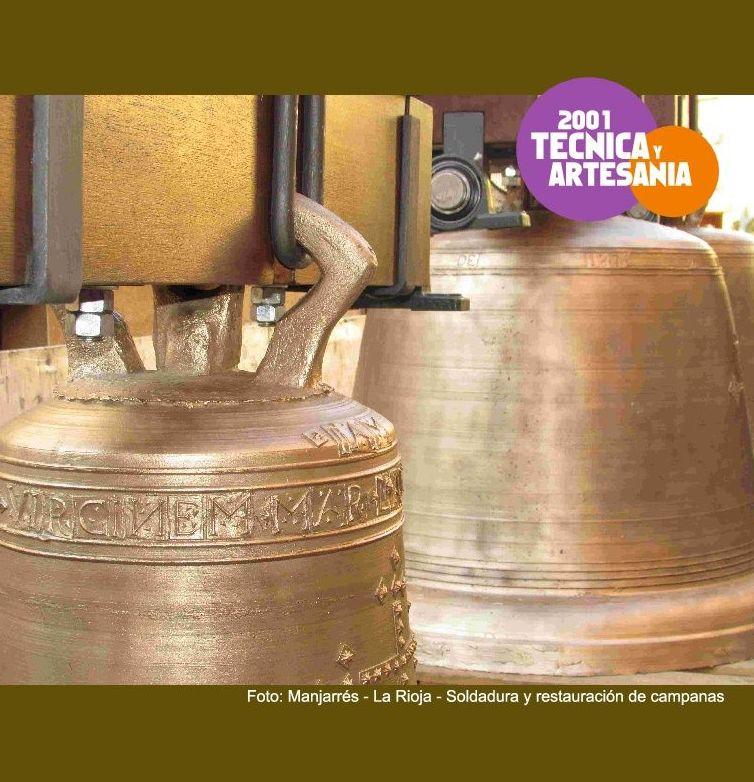 Restauración por soldadura de campanas