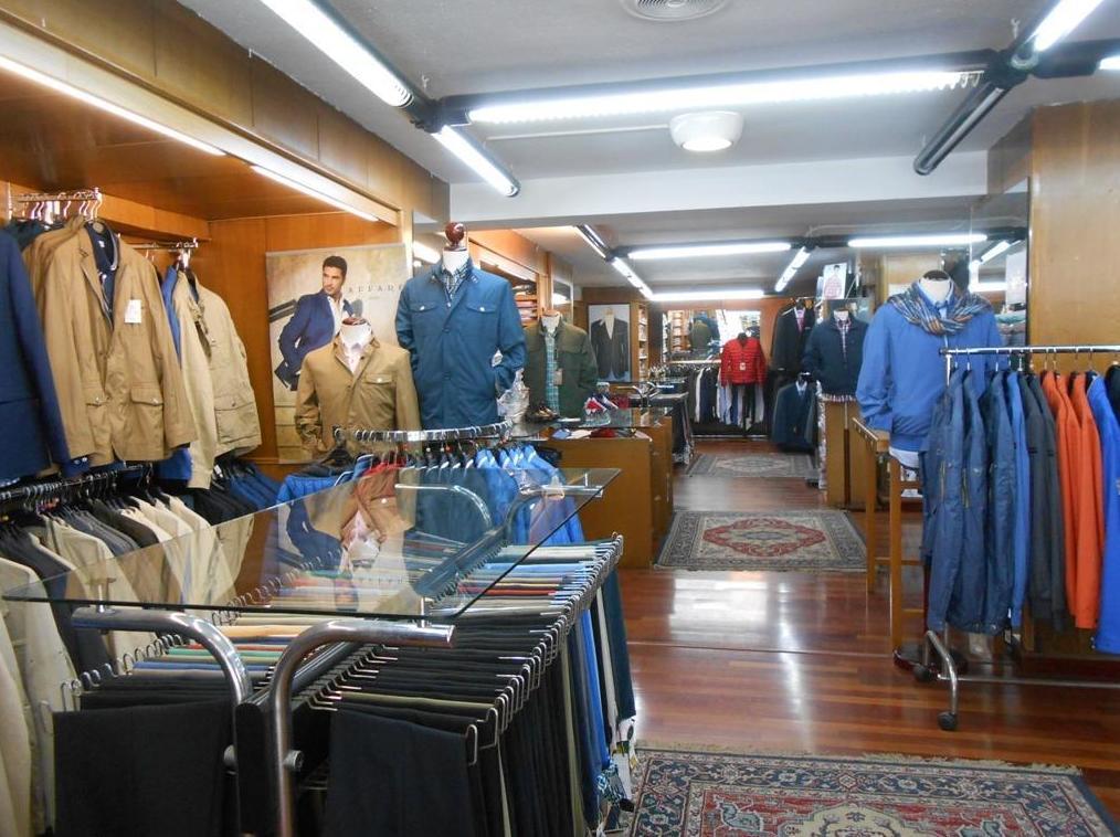 Bonardi, todo tipo de ropa de caballero en Gijón