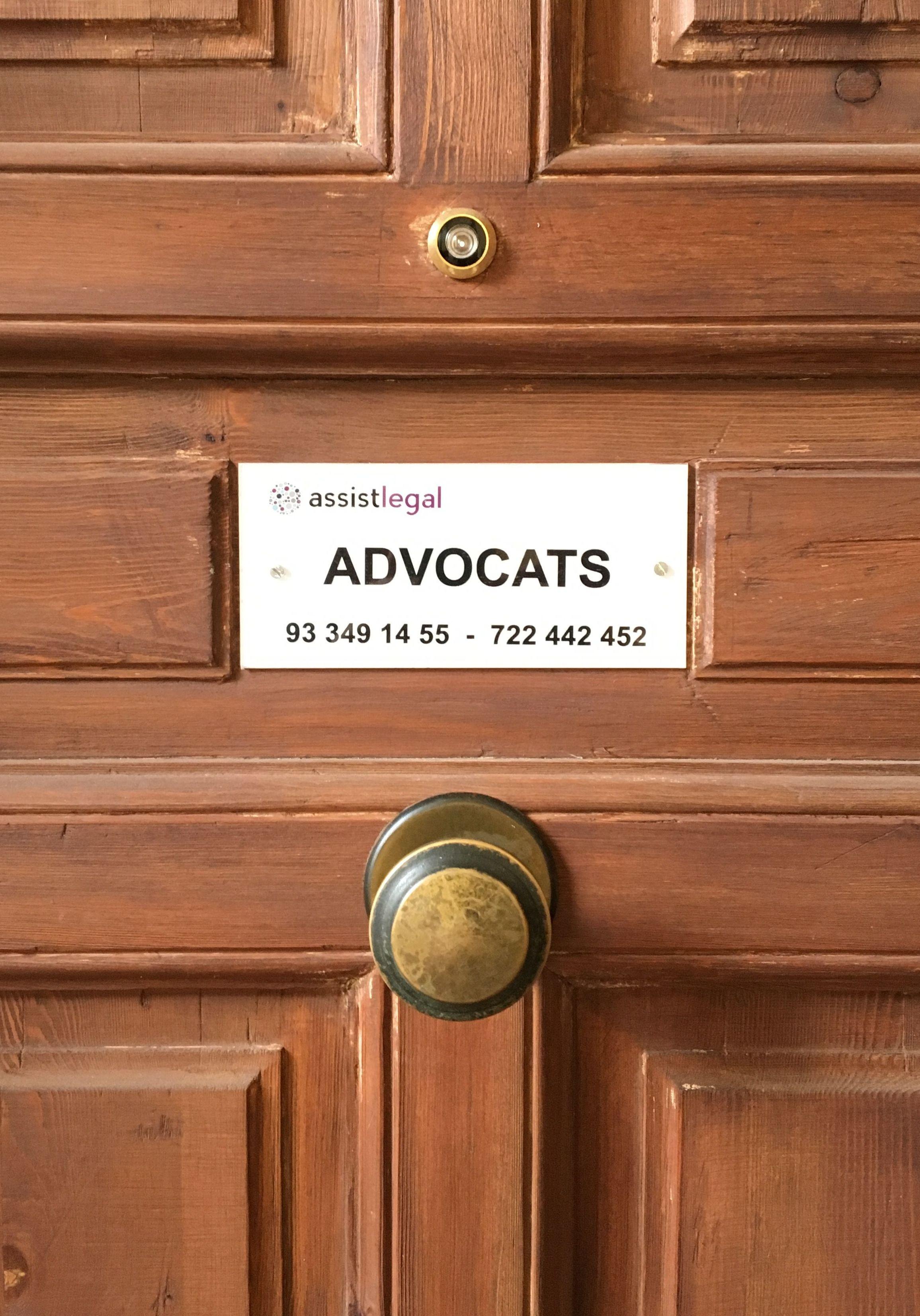Foto 14 de Despacho de abogados multidisciplinar en Barcelona en Barcelona | ASSISTLEGAL                                                abogados Maragall