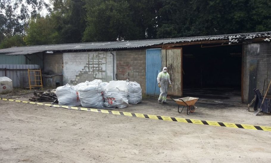 Retirada y gestión de amianto en Asturias