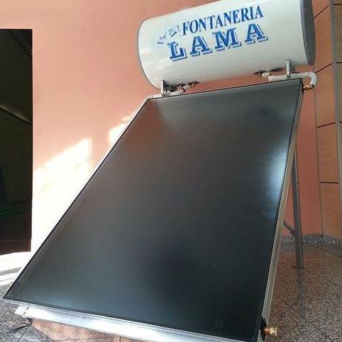 Compactos colector plano 200L: Productos y servicios  de Fontanería Lama