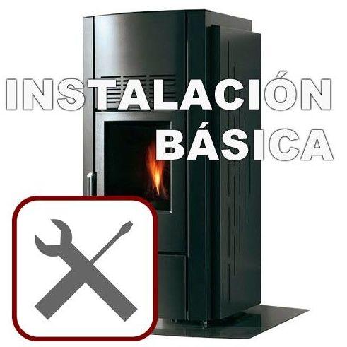 Instalación básica de estufas de pellets: Productos y servicios  de Fontanería Lama