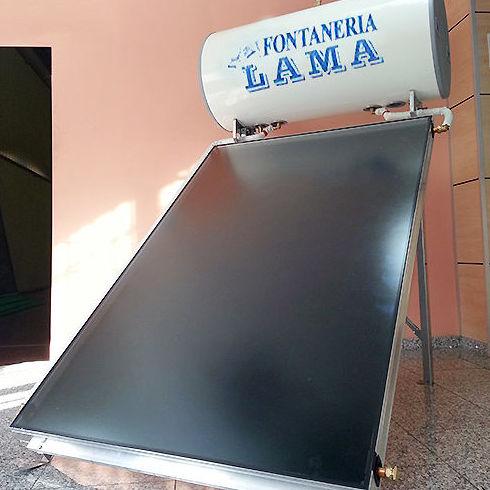 Amplia experiencia en instalación de colectores solares térmicos en la provincia de Sevilla