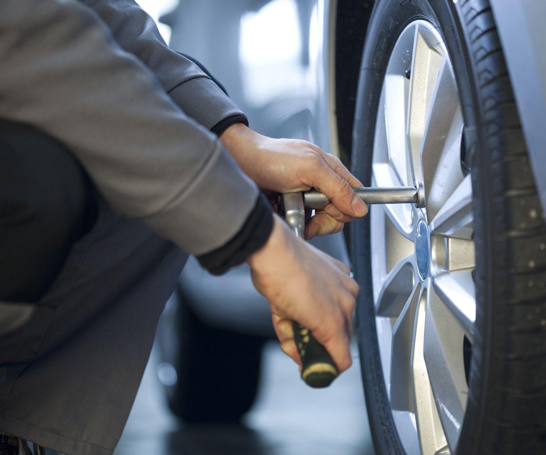 Cambio de neumáticos en Jaén