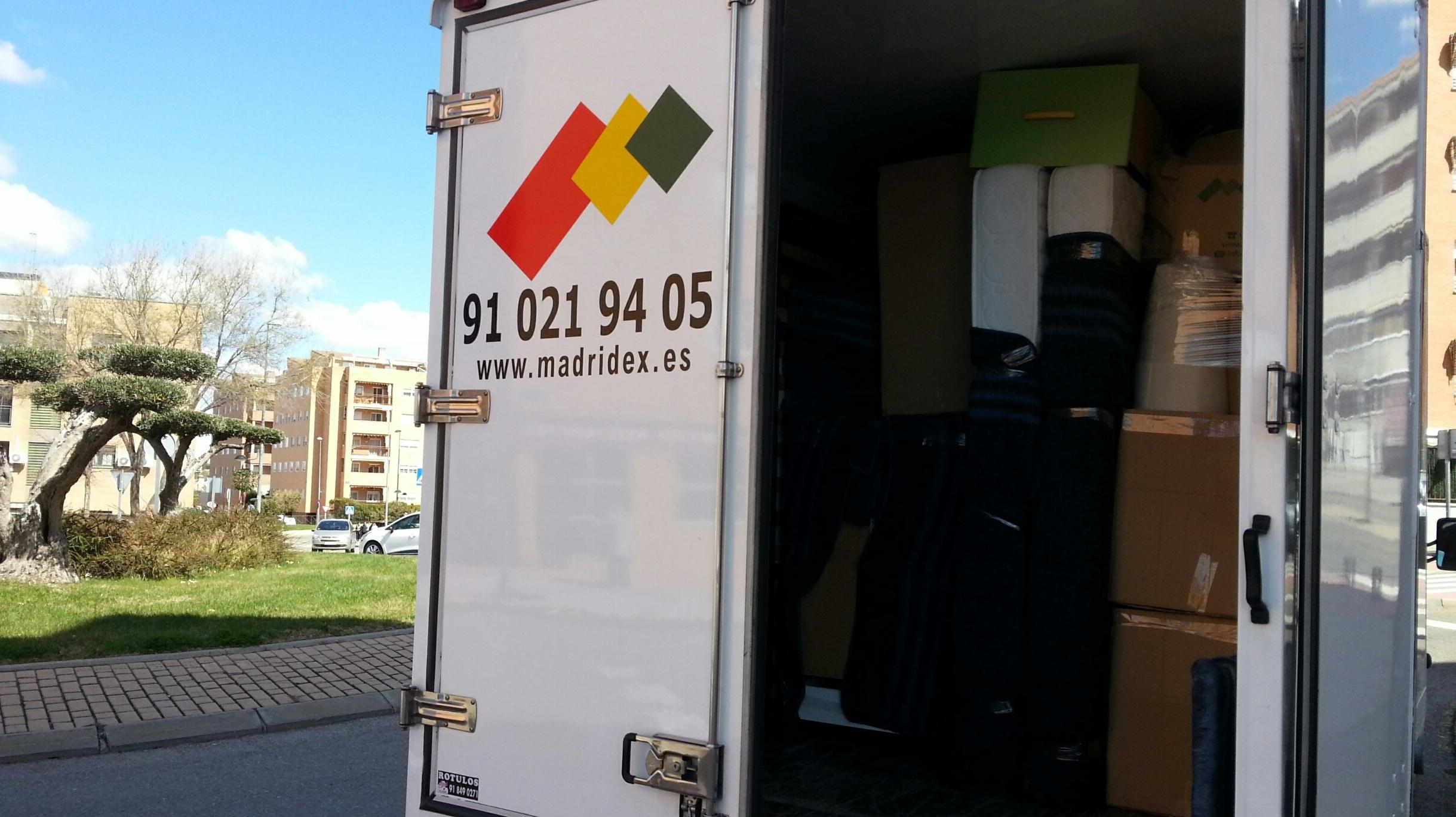 Mudanzas Baratas express en Madrid
