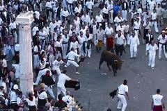 ensogado en la vaquilla de Teruel , julio