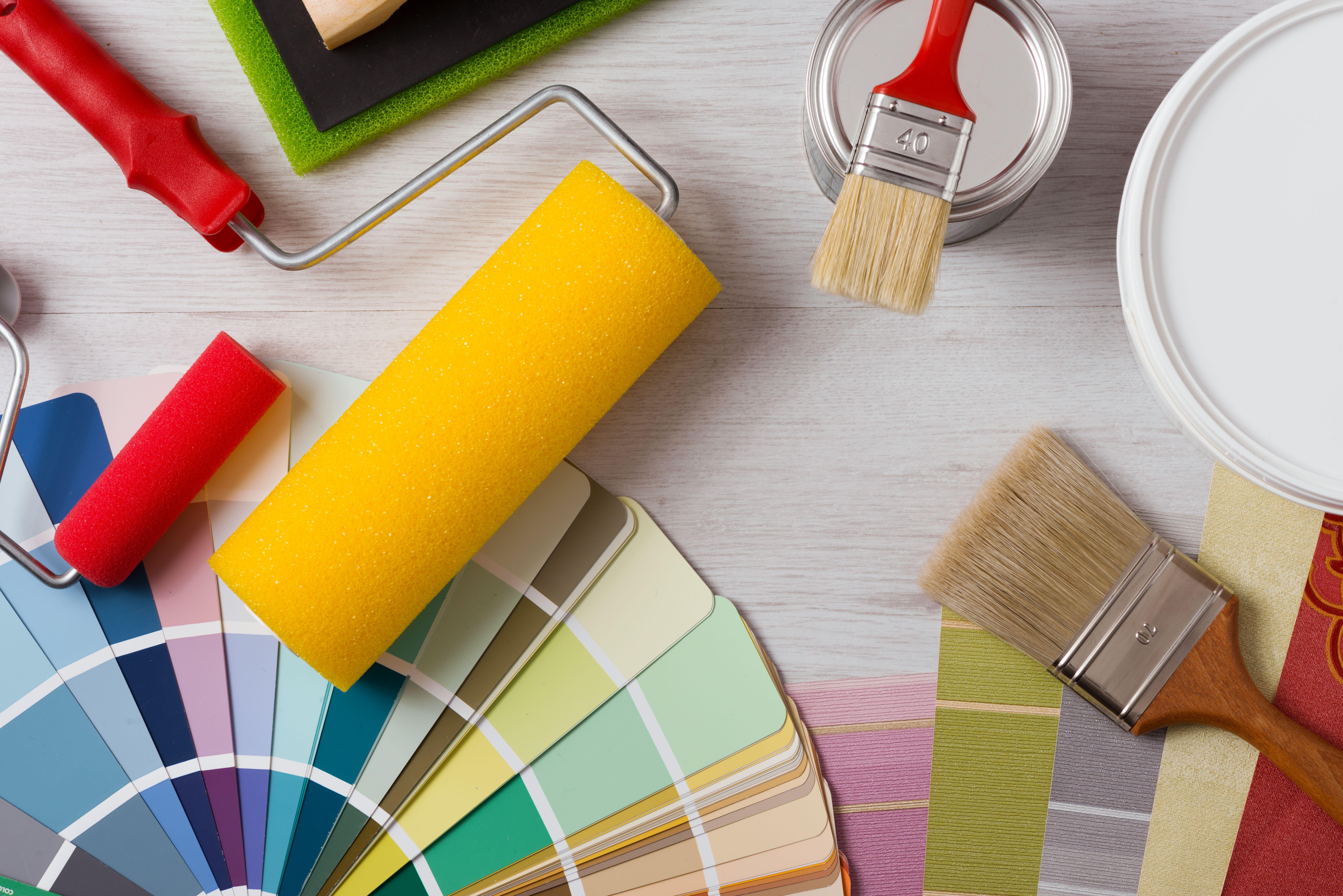 Pintura industrial y decorativa: Servicios de Reformas y Pinturas Mateo