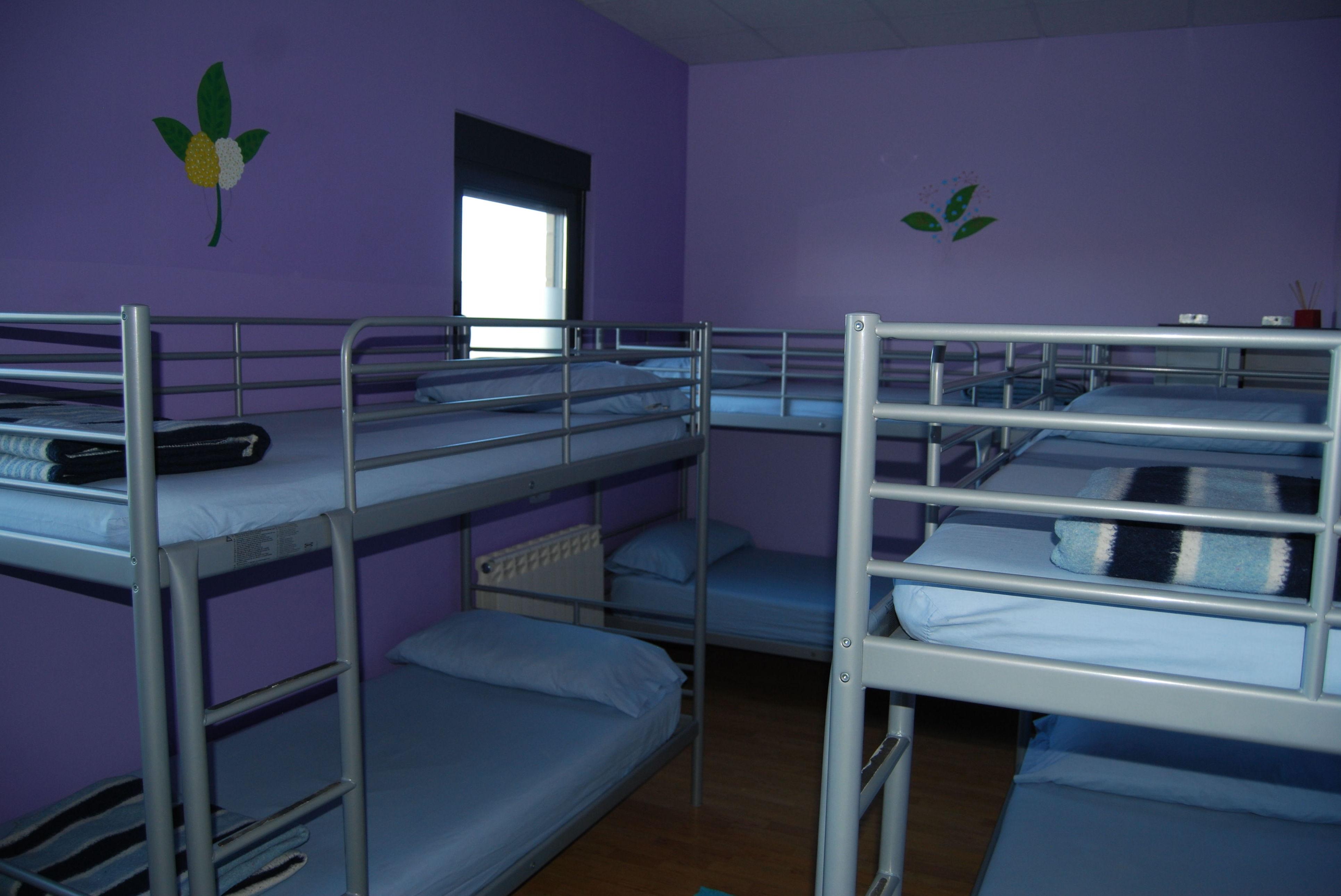 Habitaciones con literas en Albergue Vieira