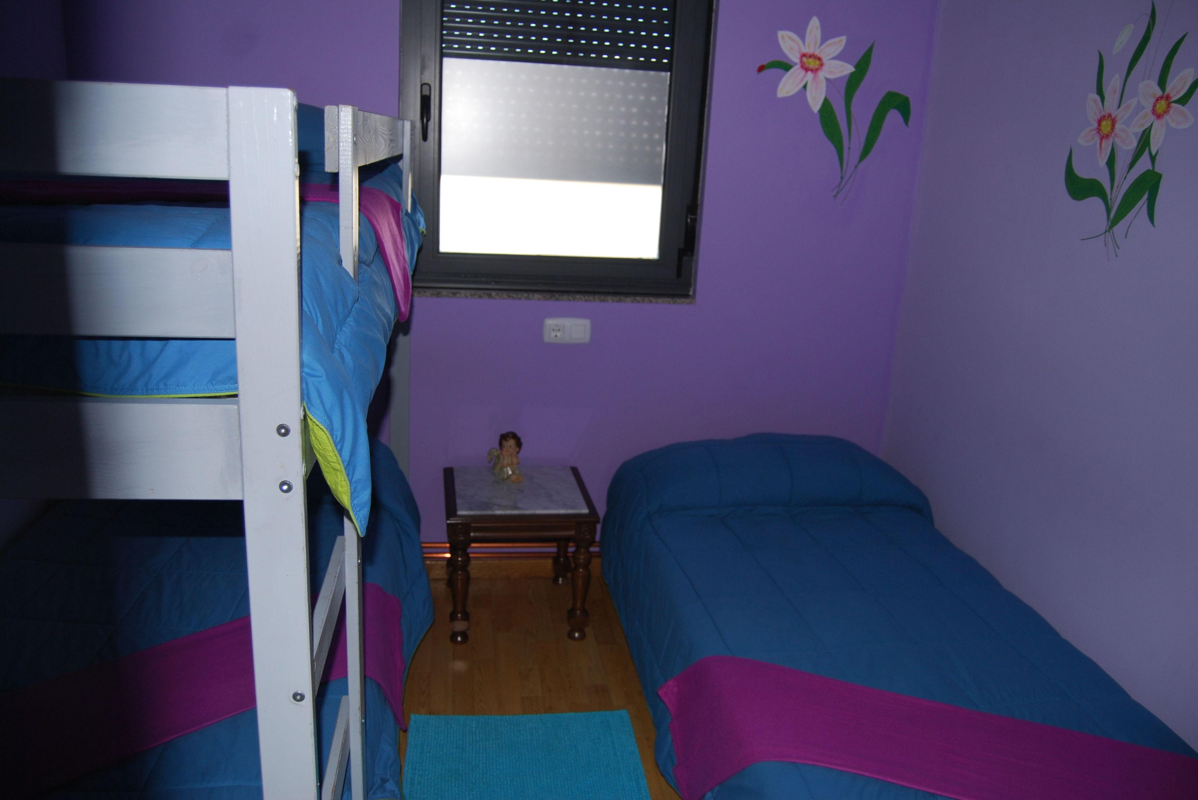 Albergue Vieira, habitación triple