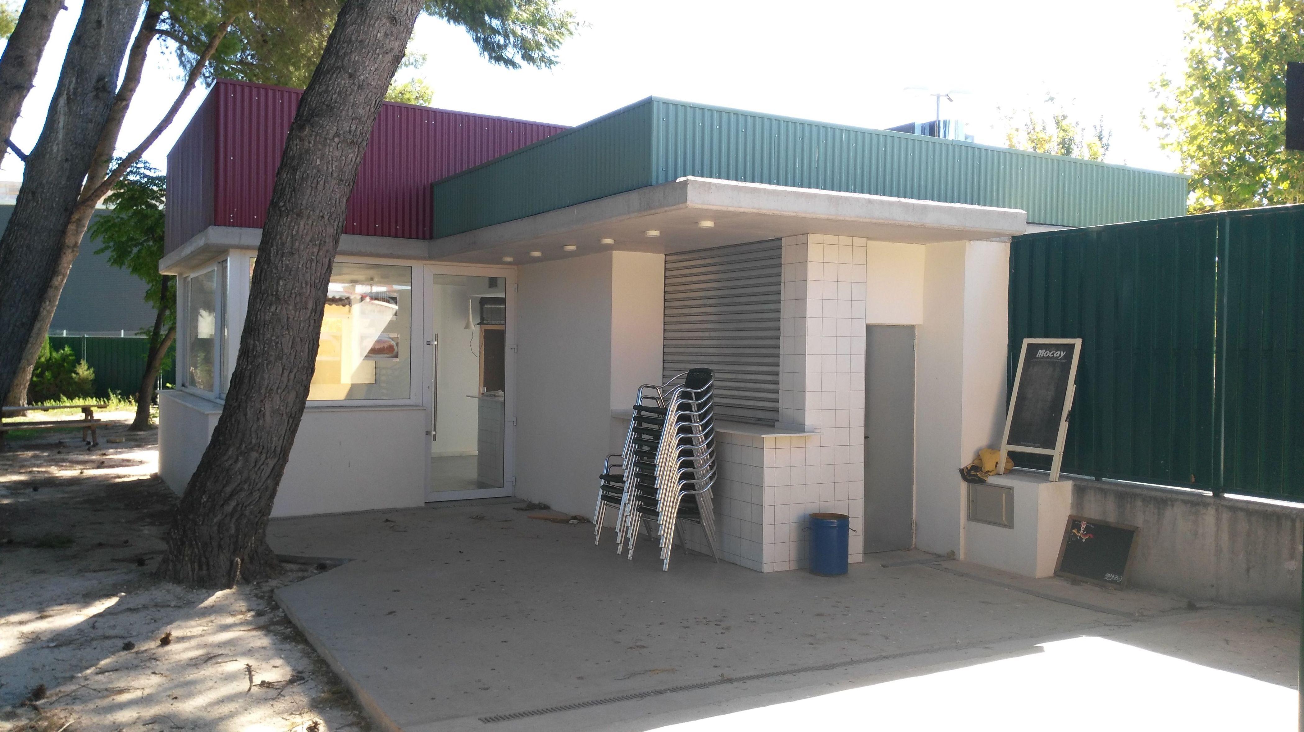 bar piscinas municipales de El Burgo de Ebro