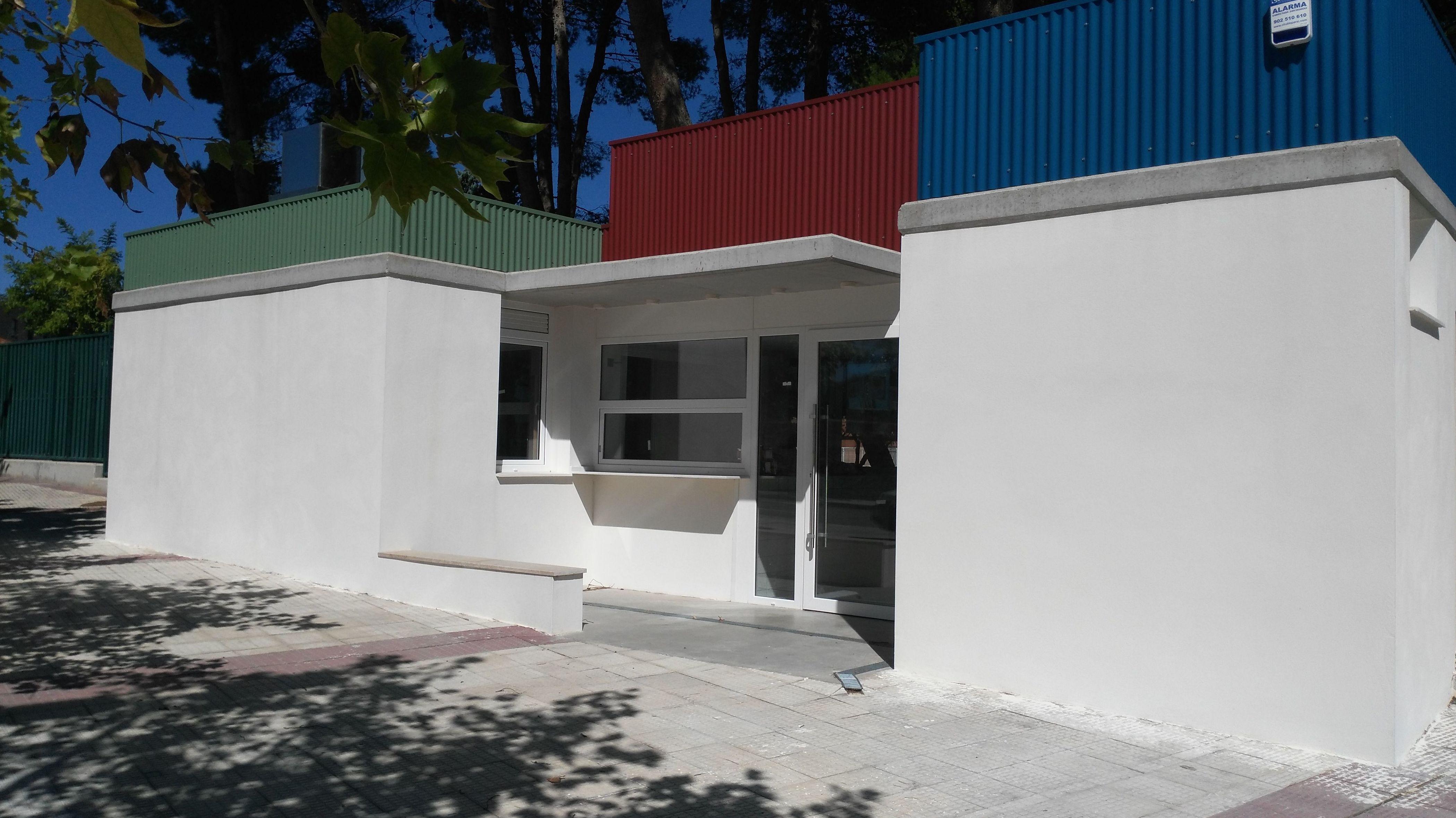 construcción de bar en piscinas municipales de El Burgo de Ebro