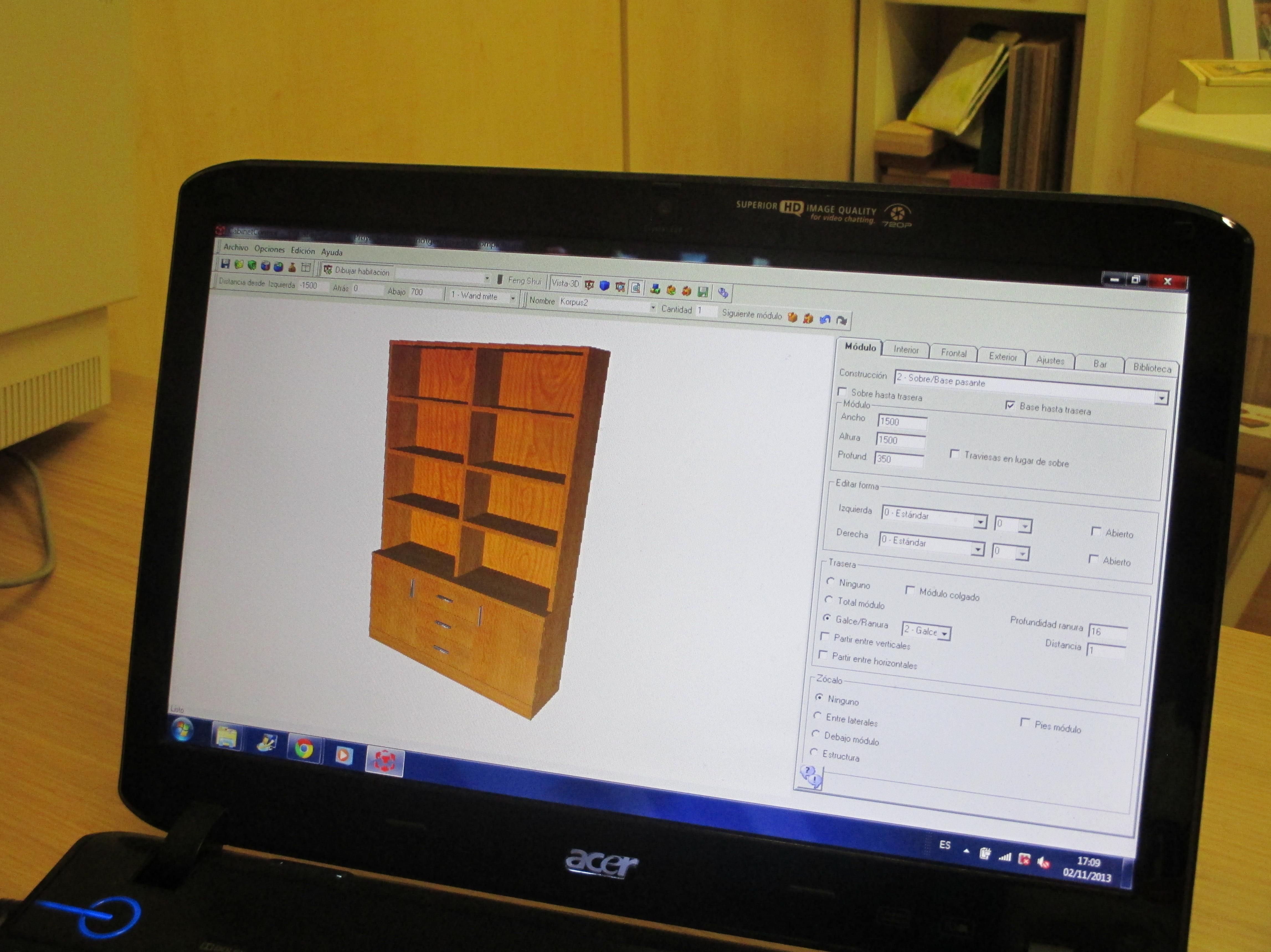 Diseño por ordenador de proyectos.