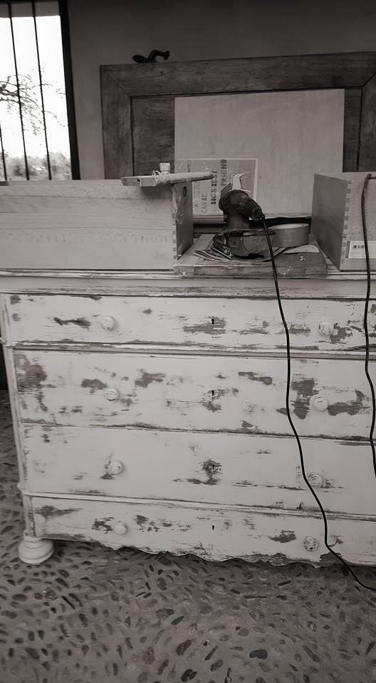 Restoration of antique furniture in Mallorca