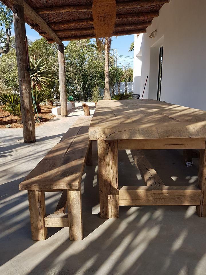 Rustic furniture in Mallorca