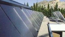 Eergia solar termica para agua calienteb sanitaria