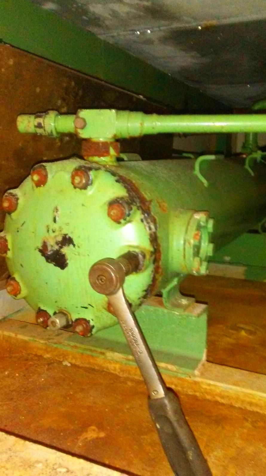 Reparacion sistemas industriales de frio Naval