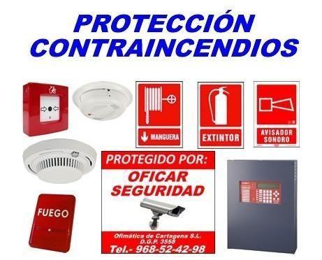 Sistemas de protección contra incendios en Murcia