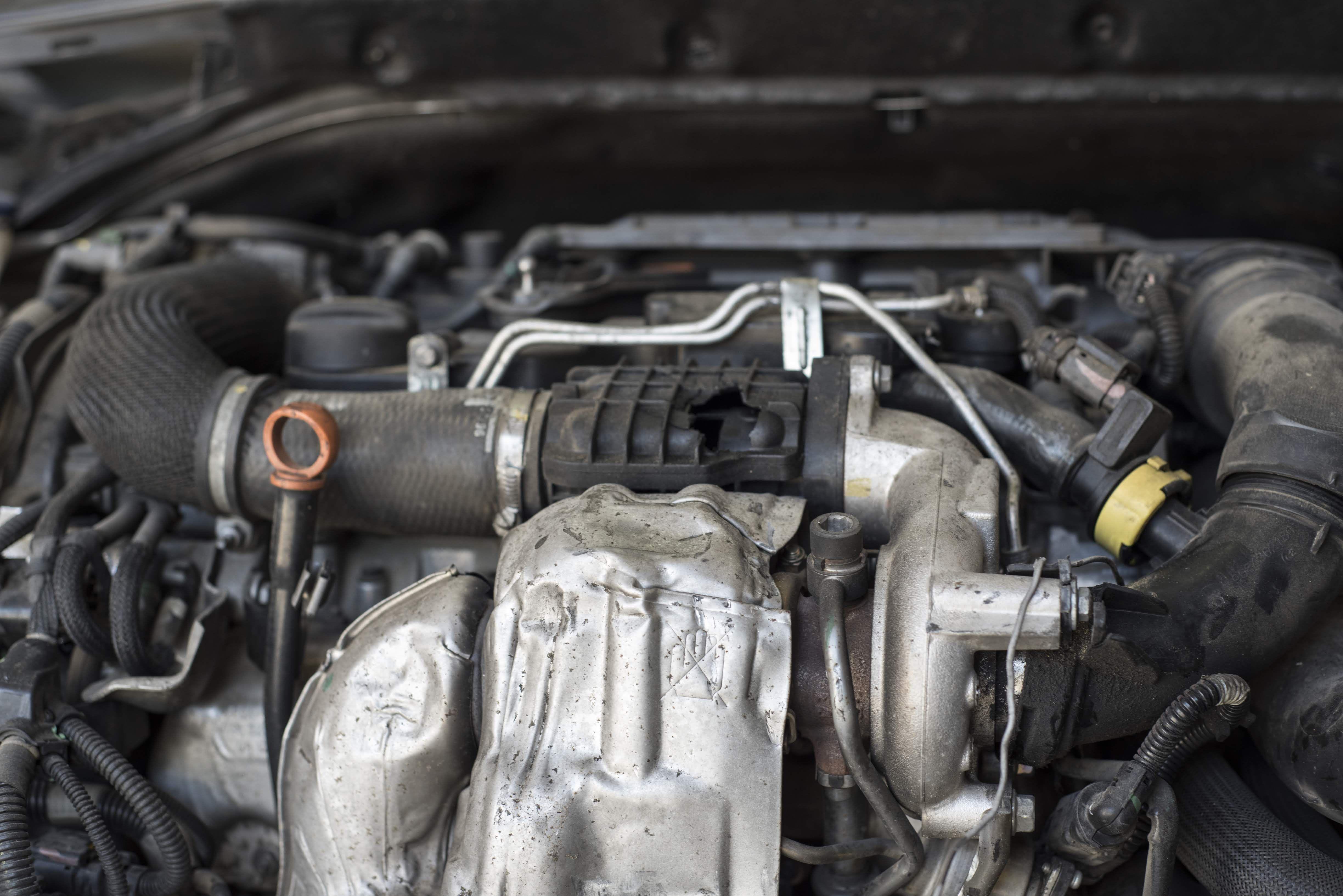 Reparación motor