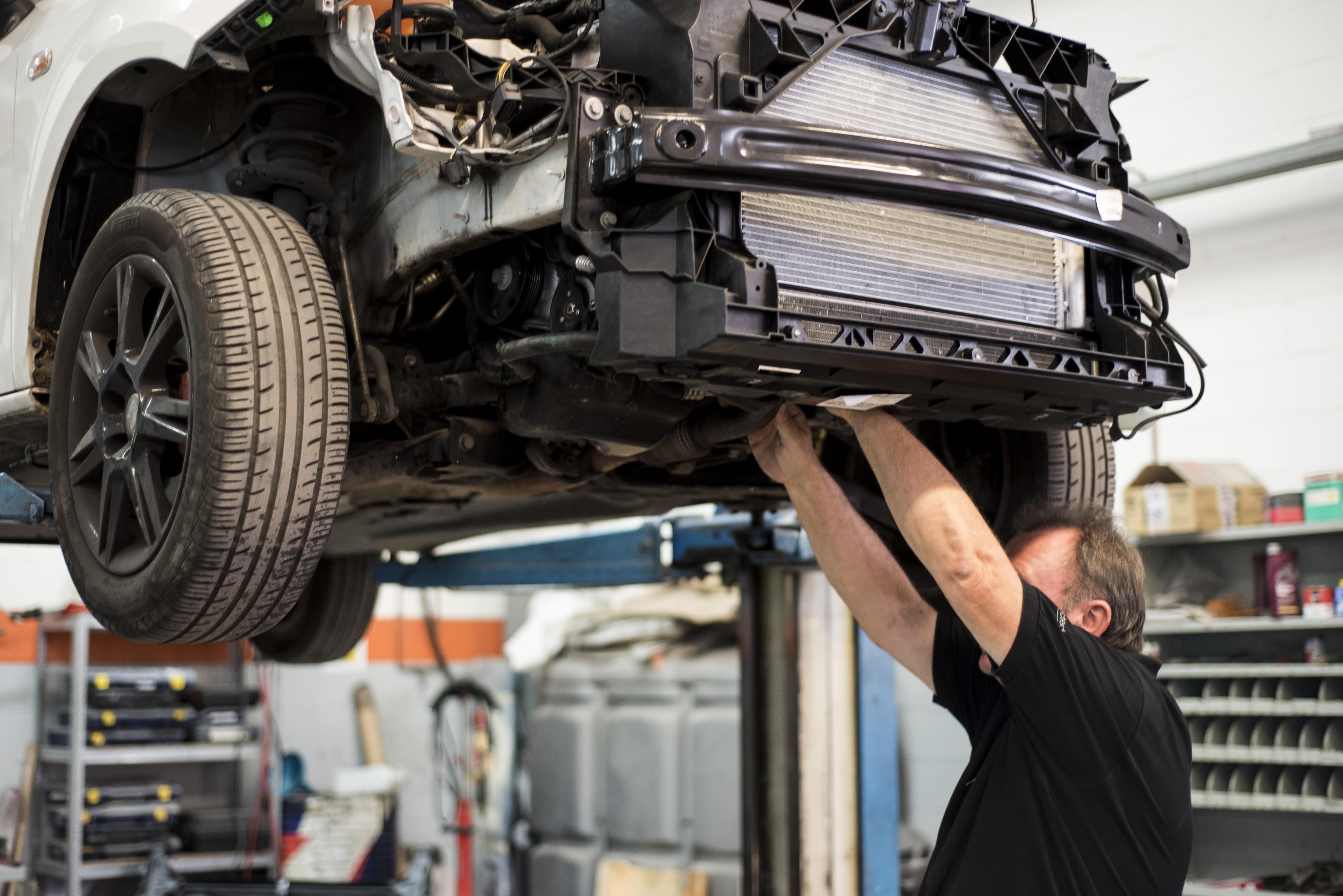 Reparación vehículo