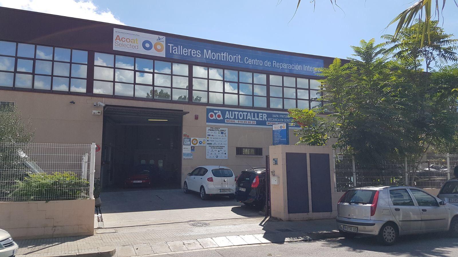 Taller de reparación del automóvil en Gavà, Barcelona