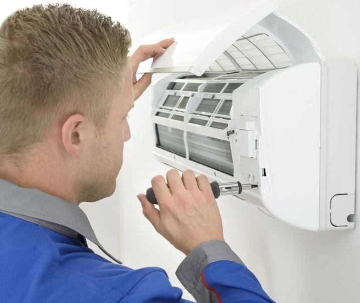 Reparación del aire acondicionado