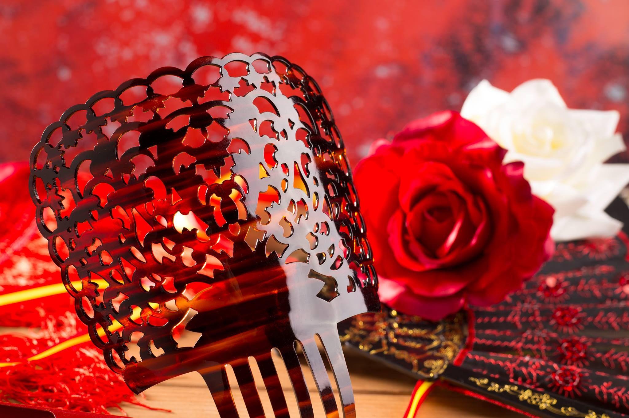 Peinetas de flamenca