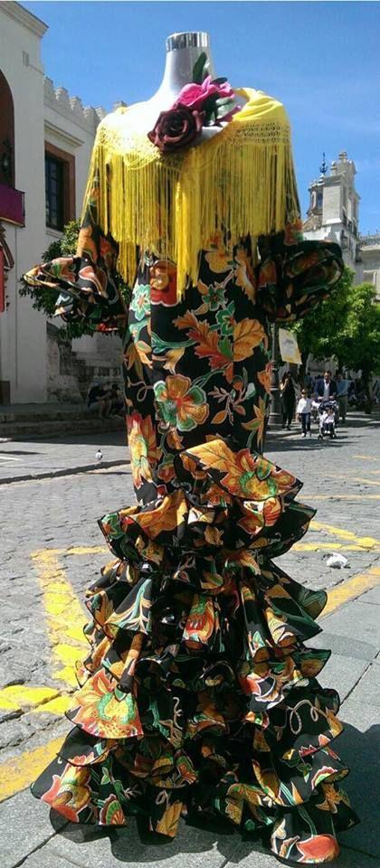 Venta de mantillas de flamenca