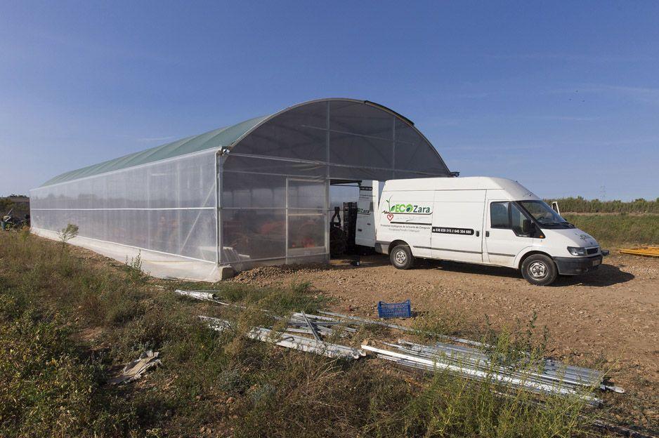 Producción de alimentos ecológicos en Zaragoza