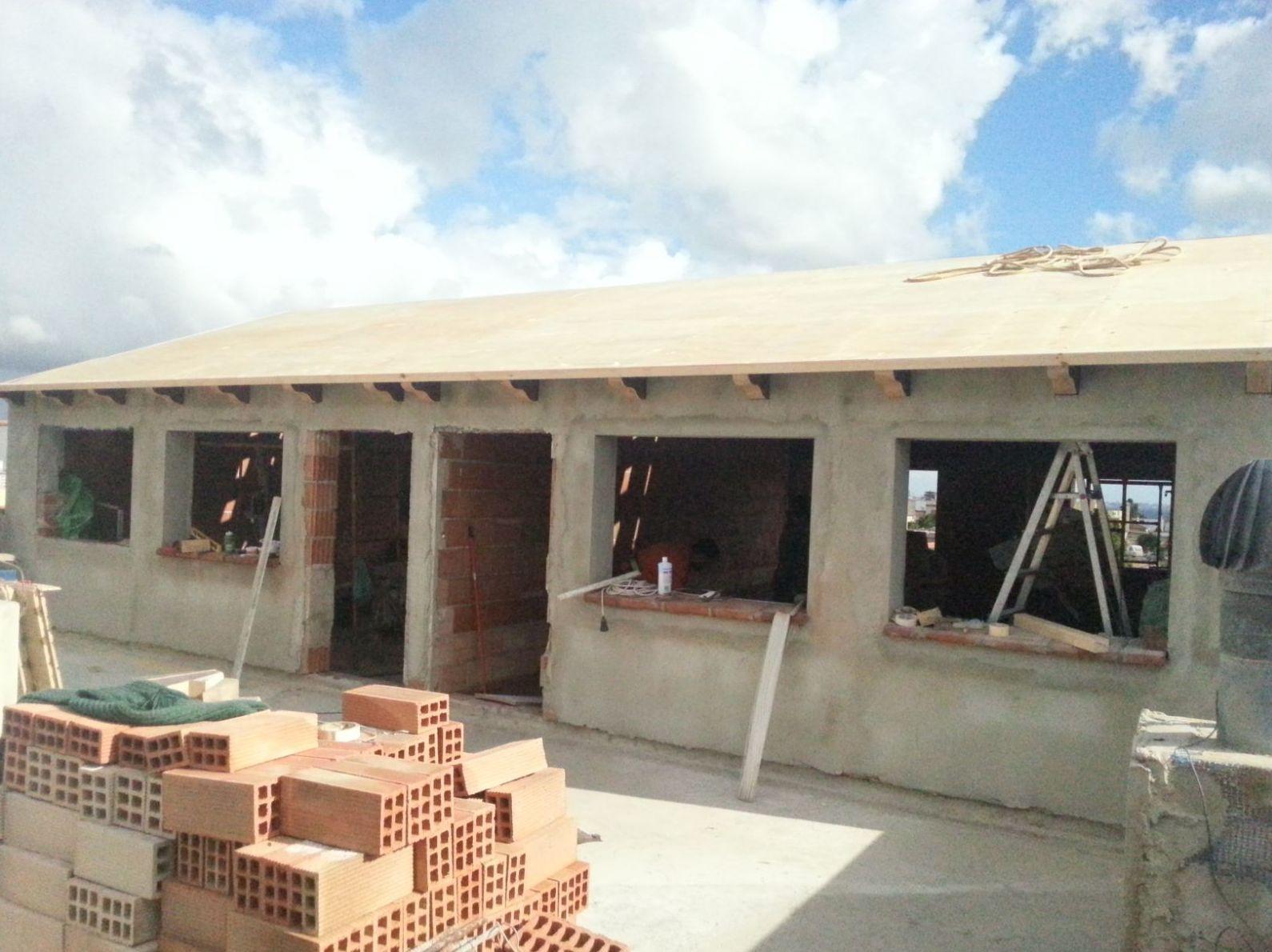 Construcción buhardilla