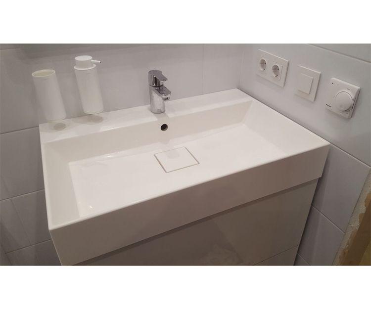 Instalación de muebles de baño