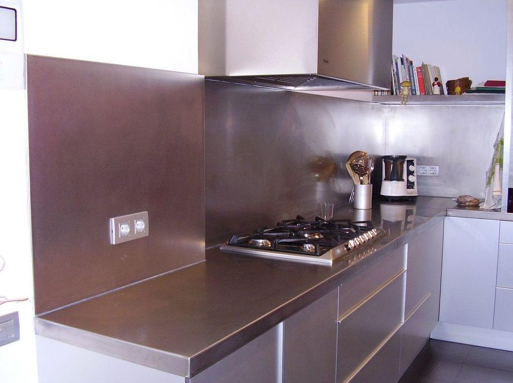 Cocinas en acero inoxidable en Pedralbes, Barcelona